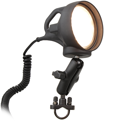 RAM-B-152R - RAM SPOTLIGHT WITH MOUNT & U-BOLT BASE
