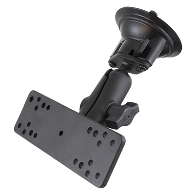 RAM-B-166-111U - RAM Twist-Lock Suction Cup Mount with Universal Electronics Plate