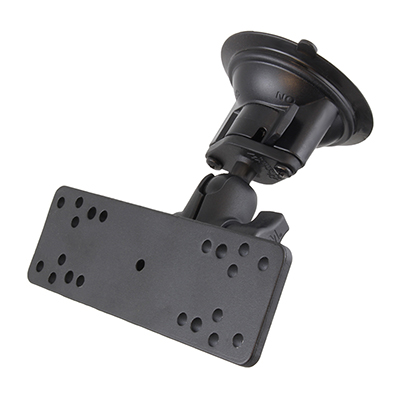 RAM-B-166-A-111U - RAM Twist-Lock Suction Cup Mount with Universal Electronics Plate