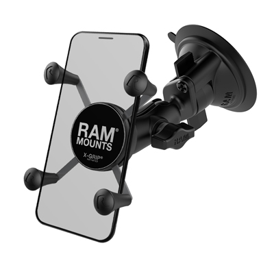 RAM-B-166-A-UN7U - UNPKD RAM SUCTION MOUNT RAM X-GRIP SHORT ARM