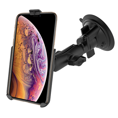 RAM-B-166-AP19U - UNPK SUCTION MNT APPLE IPHONE XS MAX, 7 PLUS & 6 PLUS