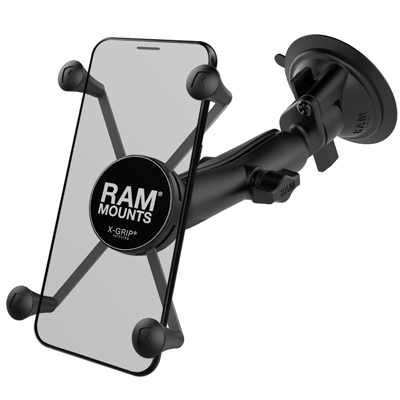 RAM-B-166-C-UN10U - RAM X-Grip Large Phone Mount with RAM Twist-Lock Suction Cup Base