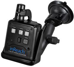 RAM-B-166-DEL2U - RAM Twist-Lock Suction Cup Mount for DeLorme inReach
