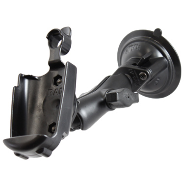 RAM-B-166-GA20U - RAM Twist-Lock Suction Cup Mount for Garmin Rino 520 + More