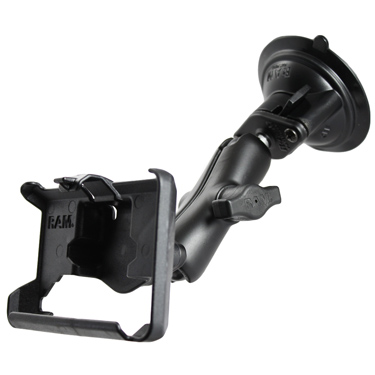 RAM-B-166-GA26U - RAM Twist-Lock Suction Cup Mount for Garmin nuvi 710, 785T + More