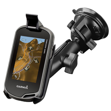 RAM-B-166-GA31 - RAM Twist-Lock Suction Cup Mount for Garmin Oregon 200, 750T + More