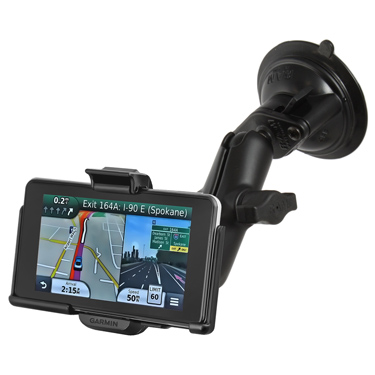 RAM-B-166-GA39U - UNPKD RAM SUCTION MOUNT GARMIN NUVI 3700