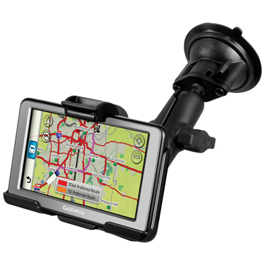 RAM-B-166-GA43U - RAM Twist-Lock Suction Cup Mount for Garmin dezl 560LMT & 560LT