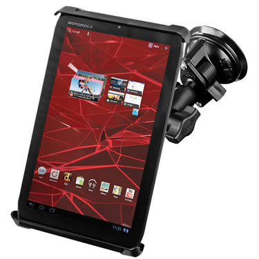 RAM-B-166-TAB-SM - RAM Tab-Tite with RAM Twist-Lock Suction Cup Mount for Small Tablets