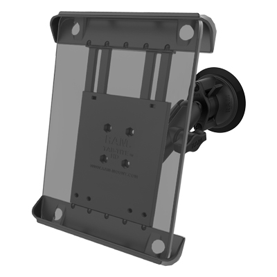 RAM-B-166-TAB3U - RAM Tab-Tite with RAM Twist-Lock Suction Cup for iPad 1-4 + More