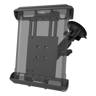RAM-B-166-TAB8U - RAM Tab-Tite with RAM Twist-Lock Suction Cup for Tablets with Cases