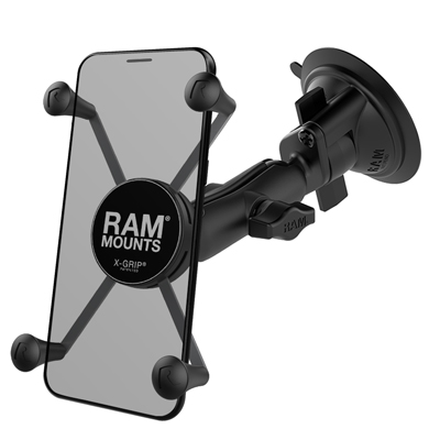 RAM-B-166-UN10U - RAM X-Grip Large Phone Mount with RAM Twist-Lock Suction Cup Base