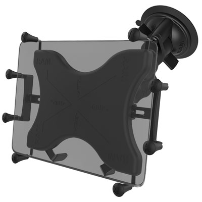 RAM-B-166-UN11U - RAM X-Grip Large Tablet Mount with RAM Twist-Lock Suction Cup Base
