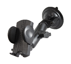 RAM-B-166-UN1U - RAM Twist-Lock Suction Cup Mount with Universal Phone Holder