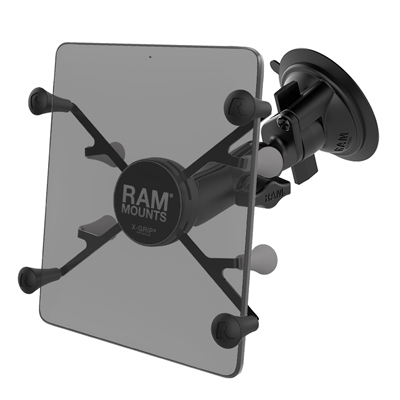 "RAM-B-166-UN8U - RAM X-Grip with RAM Twist-Lock Suction Cup Mount for 7""-8"" Tablets"