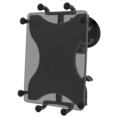 "RAM-B-166-UN9U - RAM X-Grip with RAM Twist-Lock Suction Cup Mount for 9""-10"" Tablets"