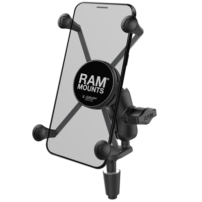 RAM-B-176-A-UN10U - UNPKD RAM STEM MOUNT SHORT ARM & RAM X-GRIP