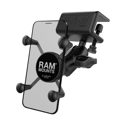 RAM-B-177-UN7U - UNPKD RAM GLARE SHIELD CLAMP RAM X-GRIP