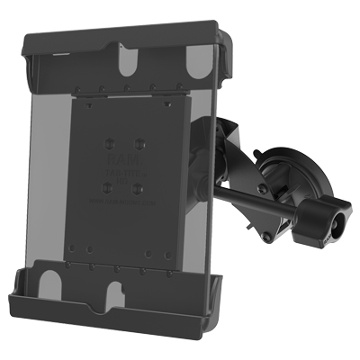 "RAM-B-189-A-TAB20-ALA1-KRU - RAM Tab-Tite with RAM Twist-Lock Dual Suction for 9""-10.5"" Tablets"