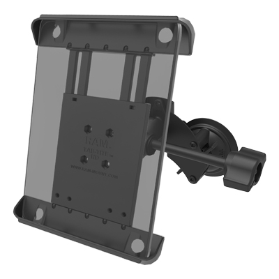RAM-B-189-A-TAB3-ALA1-KRU - RAM Tab-Tite Mount with RAM Twist-Lock Dual Suction for iPad Gen 1-4