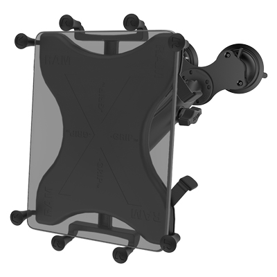 "RAM-B-189-C-UN9U - RAM X-Grip with RAM Twist-Lock Dual Suction Mount for 9""-10"" Tablets"
