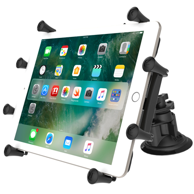 "RAM-B-189-PIV1-A-UN9U - RAM X-Grip with RAM Twist-Lock Pivot Suction for 9""-10"" Tablets"