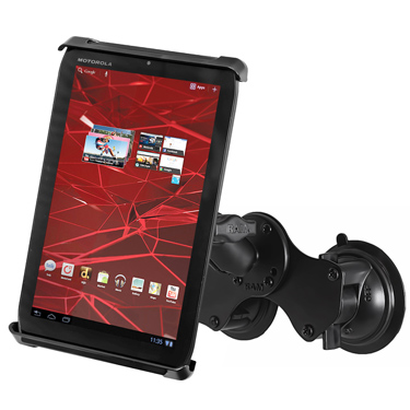 RAM-B-189-TAB-SMU - RAM Tab-Tite with RAM Twist-Lock Dual Suction for Small Tablets