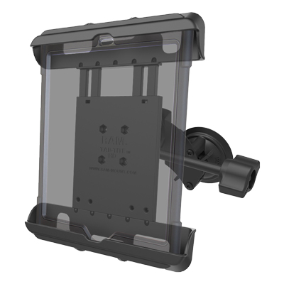 RAM-B-189-TAB17-ALA1-KR-CAN1U - RAM Tab-Tite with RAM Twist-Lock Dual Suction for iPad Gen 1-4