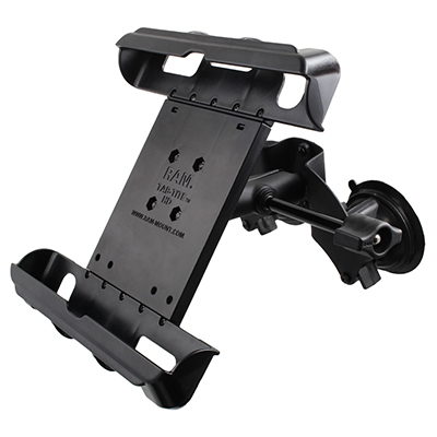 RAM-B-189-TAB17-ALA1-KRAU - RAM Tab-Tite with RAM Twist-Lock Dual Suction for iPad Gen 1-4