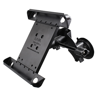 RAM-B-189-TAB3-ALA1-KRU - RAM Tab-Tite with RAM Twist-Lock Dual Suction for iPad Gen 1-4