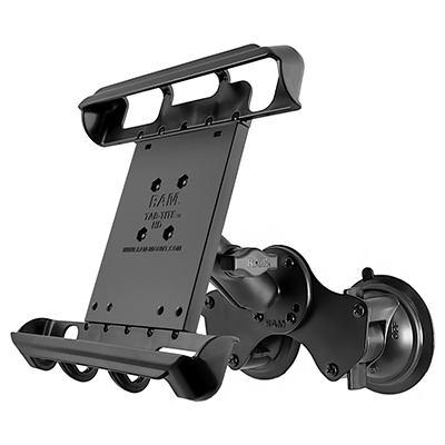 RAM-B-189-TAB8U - RAM Tab-Tite with RAM Twist-Lock Dual Suction for iPad Pro 9.7