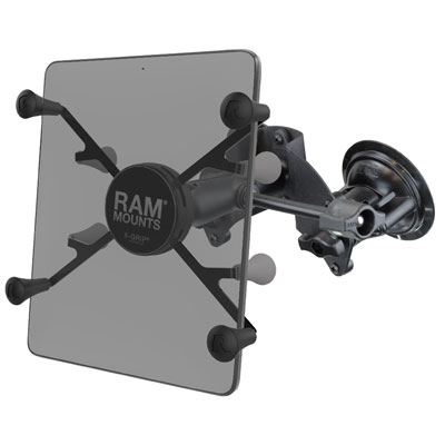 "RAM-B-189-UN8-ALA1-KRU - RAM X-Grip with RAM Twist-Lock Dual Suction for 7""-8"" Tablets"