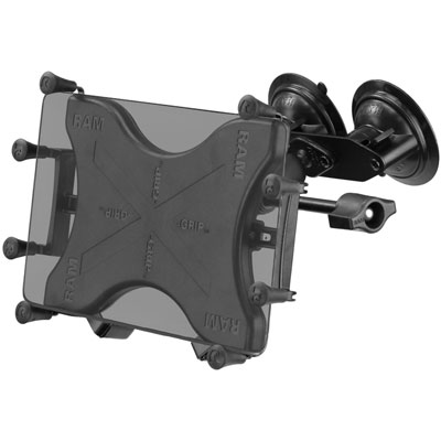 "RAM-B-189-UN9-FRO1-KRU - RAM X-Grip with RAM Twist-Lock Dual Suction for 9""-10"" Tablets"