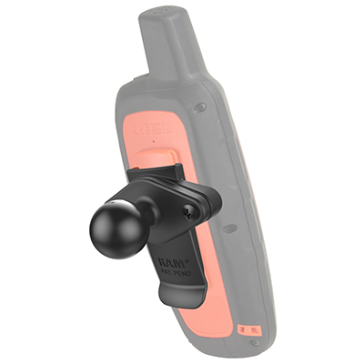 RAM-B-202-GA76U - UNPKD RAM SPINE MOUNT WITH BALL FOR GARMIN HANDHELD DEVICES
