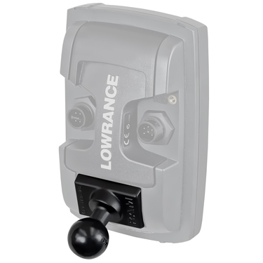 RAM-B-202U-LO11 - RAM Quick Release Ball Adapter for Lowrance Elite-4 & Mark-4 Series