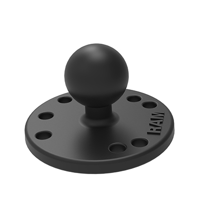 RAM-B-202U - RAM Round Plate with Ball