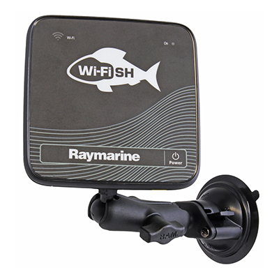 RAM-B-224-1-379-M616U - RAM Twist-Lock Suction Cup Mount for Raymarine Dragonfly