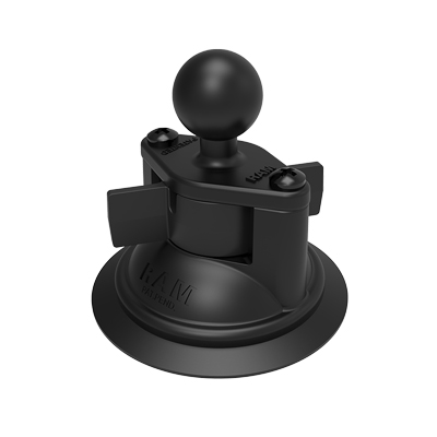 RAM-B-224-1U - RAM Twist-Lock Suction Cup Base with Ball
