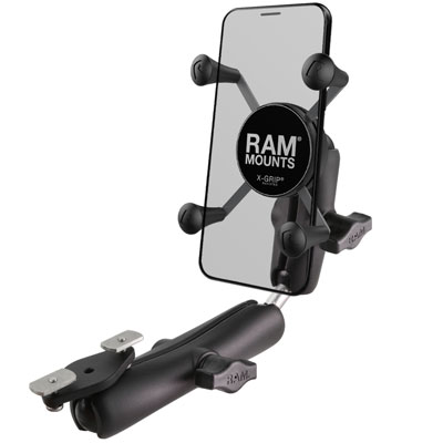 RAM-B-238-WCT-2-UN7 - RAM X-Grip Phone Mount for Wheelchair Armrests
