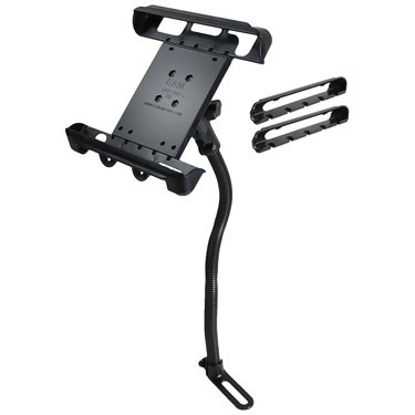RAM-B-316-1-TAB-LG - RAM Tab-Tite with RAM Pod I Vehicle Mount for Large Tablets