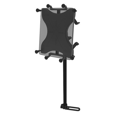 RAM® X-Grip® with RAM® Pod™ I Vehicle Mount for 9