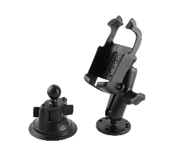 RAM-B-372-GA5 - RAM Twist-Lock Suction & Drill-Down Mount for Garmin Venture + More