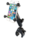 RAM-B-400-C-UN7U - RAM Small Tough-Claw™ Base with Long Double Socket Arm and Universal X-Grip® (Patented) Cell/iPhone Cradle