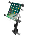 "RAM-B-400-C-UN8U - RAM Small Tough-Claw™ Base with Long Double Socket Arm and Universal X-Grip® (Patented) Cradle for 7"" Tablets"