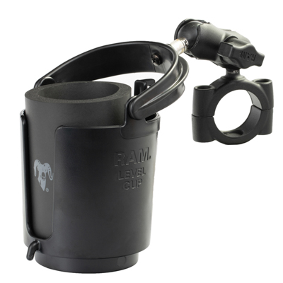 RAM-B-408-112-15-A-132U - RAM Level Cup 16oz Drink Holder with RAM Torque Large Rail Base