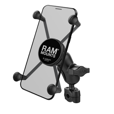 RAM-B-408-37-62-A-UN10 - RAM X-Grip Large Phone Mount with RAM Torque Small Rail Base