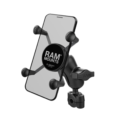 RAM-B-408-37-62-A-UN7U - RAM X-Grip Phone Mount with RAM Torque Small Rail Base