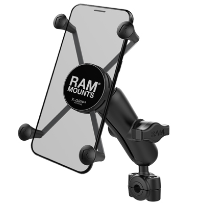 RAM-B-408-37-62-UN10U - RAM X-Grip Large Phone Mount with RAM Torque Small Rail Base