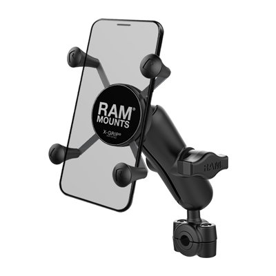 RAM-B-408-37-62-UN7U - RAM X-Grip Phone Mount with RAM Torque Small Rail Base