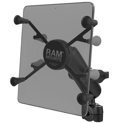 "RAM-B-408-37-62-UN8U - RAM X-Grip with RAM Torque Small Rail Base for 7""-8"" Tablets"